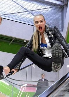 Cara Delevingne is never boring, that's for sure!