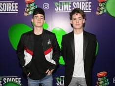 Max & Harvey Photos - Max & Harvey attend the 2019 Nickelodeon Kids' Choice Awards Slime Soiree on March 22, 2019 in Venice, California. - 2019 Nickelodeon Kids' Choice Awards Slime Soiree