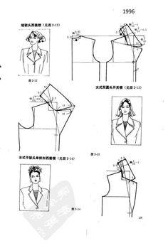 Coat Patterns, Dress Sewing Patterns, Doll Clothes Patterns, Clothing Patterns, Pocket Pattern, Collar Pattern, Velvet Dress Designs, Sewing Collars, Japanese Sewing Patterns