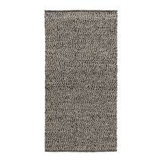 IKEA - BASNÄS, Rug, flatwoven, 80x150 cm, , The durable, soil-resistant wool surface makes this rug perfect for high traffic areas like hallways in your home.Easy to vacuum thanks to its flat surface.The rug has the same pattern on both sides, so you can turn it over and it will withstand more wear and last even longer.