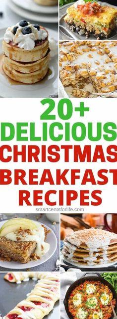 Breakfast And Brunch, Christmas Morning Breakfast, Christmas Brunch, Breakfast For Kids, Breakfast Ideas, Brunch Ideas, Christmas Recipes, Christmas Eve, Dinner Ideas
