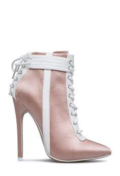 a19fac90d31 SACHA CORSET LACE-UP BOOTIE - ShoeDazzle Lace Corset