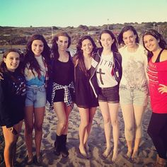 Cimorelli & Bethany Mota on a beach This is one of my all time favorite pictures