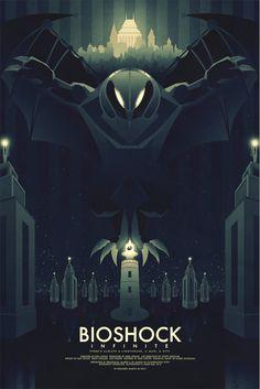 Cool Art: 'Bioshock Infinite' by Ron Guyatt
