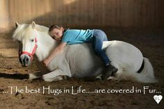 Hugs.... repinned with thanks by DressageWaikato.co.nz.....