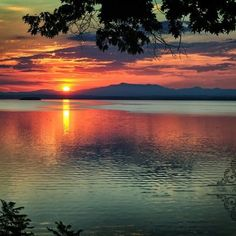 Lake Champlain looking toward VT