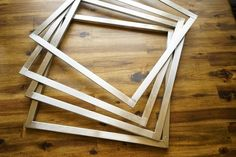 Pastry frames I use for my entremets.