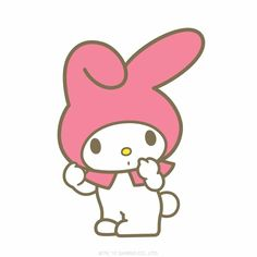 It's National Trivia Day! Question: Who made My Melody's adorable hood?