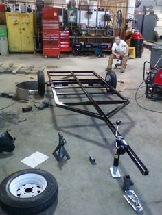 Primed and Painted frame