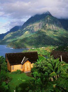 Keikahanui Nuku Hiva Pearl Lodge on Nuku Hiva, Marquesas Islands (Dmitri Alexander) http://yhoo.it/1rvA6P0