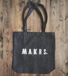 Makrs. Letterpress Tote Bag