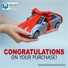 Congratulations on your purchase! Ensure your peace of mind today by protecting your asset with Select Warranty, the #warranty that's precisely meant for you. http://www.selectwarranty.com.au/