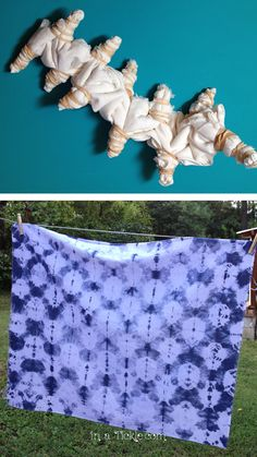 Experimenting With Shibori Dyeing