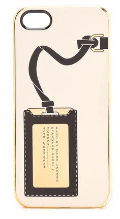 Classy phone case. Marc Jacobs. Shopbob.