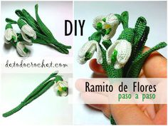 Aprende a Tejer un Ramo de Flores a Crochet / Paso a paso Crochet Diy, Crochet Gratis, Purses And Bags, Projects To Try, Lily, Knitting, Crochet Clutch Bags, Crochet Flowers, Crocheting Patterns