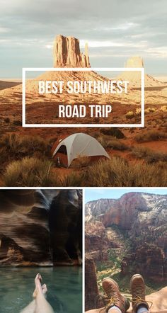 Best places to go in Utah and Arizona! Camping, hikes, and more about Zion National Park, Monument Valley, The Grand Canyon,Coral Pink Sand Dunes, Horseshoe bend, and more!!