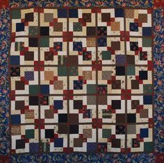disappearing nine patch quilt - Cerca con Google                                                                                                                                                     More