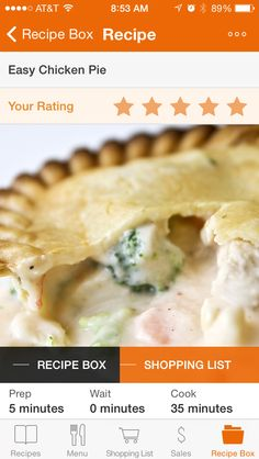 Exclusively food chicken pie recipe recipes pinterest easy chicken pie delicious mostly healthy and fairly quick foodonthetable forumfinder Gallery