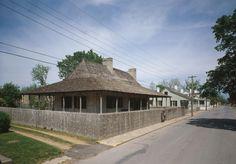 The Bolduc House.  Ste. Genevieve, Missouri.