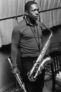Lee Friedlander's Intimate Portraits: John Coltrane, New York City. Jazz Artists, Jazz Musicians, Music Artists, Lee Friedlander, Smooth Jazz, Blue Soul, Jazz Cat, A Love Supreme, All About Jazz