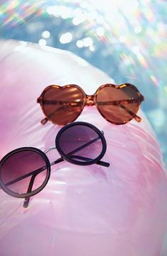 Sunnies, poolside.