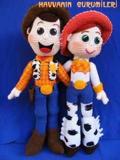 Toy story party · Animais De Crochê 891c7c3c821