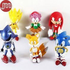 Find More Action & Toy Figures Information about New 6 PCS JP Anime SEGA Super Sonic The Hedgehog PVC Action Figures Toy Loose Set 6cm Amy Tails Mephiles Knuckles Brinquedos,High Quality toy leopard,China figure toy Suppliers, Cheap toy story action figure from M&J Toys Global Trading Co.,Ltd on Aliexpress.com