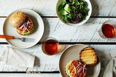 Salmon Burgers with Avocado Aioli, a recipe on Food52