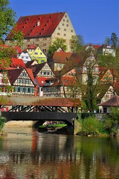 Schwaebisch Hall, Germany. Can't wait to visit soon again.