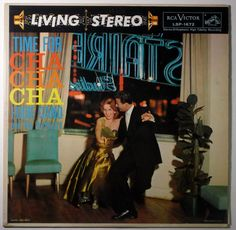 EDDIE CANO and His Orchestra TIME FOR CHA CHA CHA / RCA LIVING STEREO LSP-1672