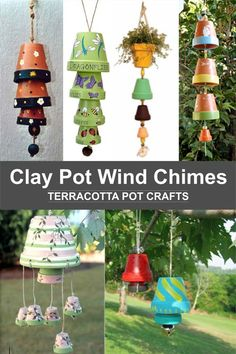 terracotta chimes crafts clay wind pot Clay Pot Wind Chimes Terracotta Pot Crafts Clay Pot CraftsYou can find Terracotta pots and more on our website Flower Pot Art, Clay Flower Pots, Flower Pot Crafts, Clay Pot Crafts, Shell Crafts, Flower Pot People, Clay Pot People, Painted Clay Pots, Painted Flower Pots