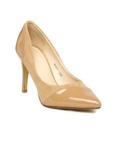 2f23559f8dcf0a Buy Van Heusen Women Beige Pumps - Heels for Women