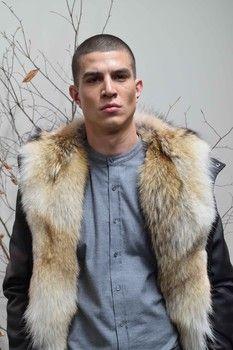 Latest Mens Fashion, New York Fashion, Men's Fashion, Fashion Tips, Mens Style Guide, Men Style Tips, Shearling Coat, Fur Coat, Mens Fur