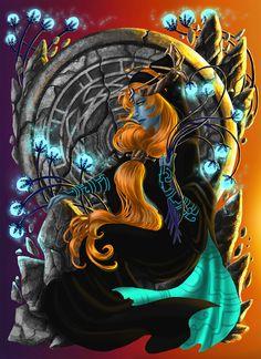 Midna - The Legend of Zelda - Twilight Princess by livroeternia