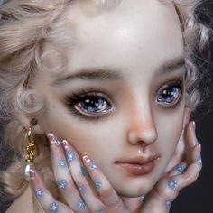 Madame de Pompadour - OOAK Porcelain Enchanted Doll™ by Marina Bychkova