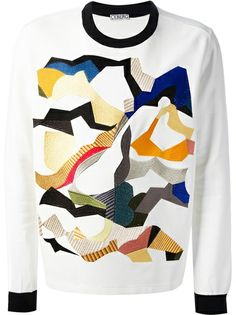 ICEBERG Embroidered Pattern Sweater