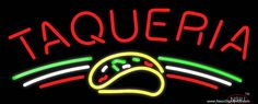 Taqueria Real Neon Glass Tube Neon Sign,Affordable and durable,Made in USA,if you want to get it ,please click the visit button or go to my website,you can get everything neon from us. based in CA USA, free shipping and 1 year warranty , 24/7 service Neon Food, Handmade Art, Tube, Neon Signs, Free Shipping, Delivery, Glass, 1 Year, Beer