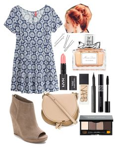 Teen Wolf- Lydia Martin Inspired Outfit by lili-c on Polyvore featuring polyvore, fashion, style, H&M, Dolce Vita, Chloé, NLY Accessories, Bobbi Brown Cosmetics, NARS Cosmetics, Surratt and Christian Dior