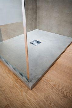Piatto doccia effetto cemento