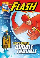 DC Comics Chapter Books is proud to introduce FLASH, the fastest man alive. Watch as he performs unbelievable feats to protect Central City, and the world! These high interest action-packed books will be a hit with boy readers everywhere! Ages 8-11.