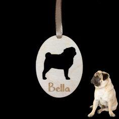 Pug Dog Puppy Pet Wooden Engraved Plaque Keepsake Decoration Ornament Gift