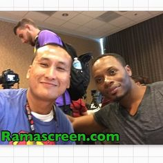 Rockin' it with Malcolm Goodwin at #comiccon #sdcc #comiccon2016 #sdcc2016 #izombie #malcolmgoodwin