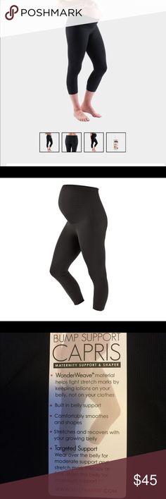 97c51bac5da657 Belly bandit Capri leggings Black size medium, Belly Bandit Capri Bump  Support Leggings. I