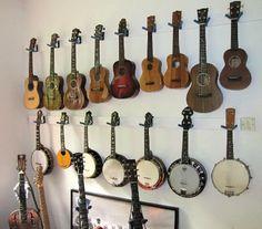 how to make a paracord ukulele hanger