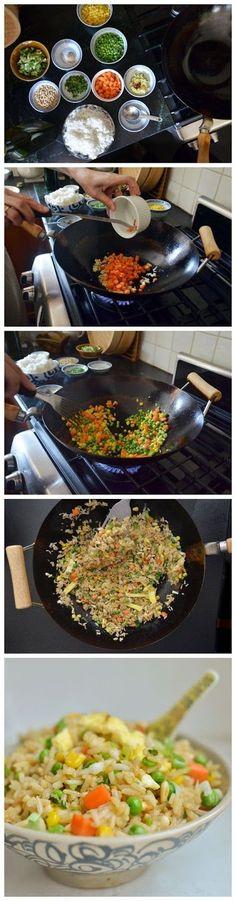 kiss recipe: How to Make Fried Rice