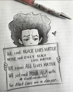 I've got nothing to say anymore - blm post - Imgur Black Love Art, Black Girl Art, Black Is Beautiful, Black Girl Magic, Protest Art, Protest Signs, Pixiv Fantasia, Afrique Art, Images Esthétiques