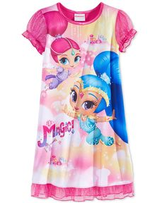 c41be2e0d Nickelodeon Girls' or Little Girls' Shimmer and Shine Nightgown & Reviews -  Pajamas - Kids - Macy's