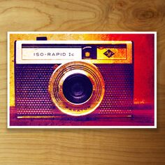ISO Rapid Print 17x11, $12, now featured on Fab.