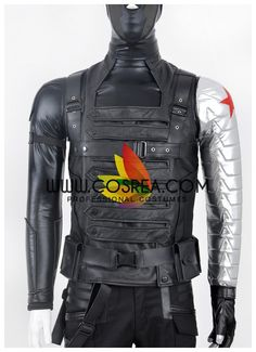 Captain America The Winter Soldier Bucky Cosplay Costume