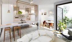 Living/Kitchen - Artist Impression